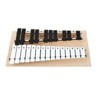 Goldon Metallophon mit 25 schwarz/weißen Klangplatten (g2-g4)