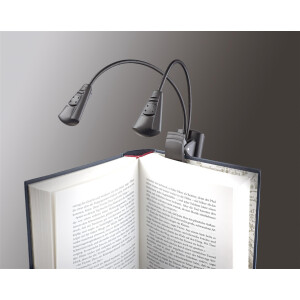 K&M Notenpultleuchte »Double LED FlexLight« 12243 schwarz