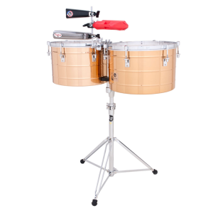 LP Timbales Tito Puente Thunder Timbs LP258-B Brass