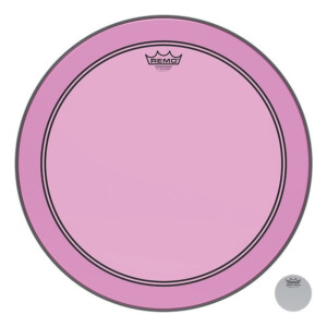 Remo Colortone Powerstroke 3 clear P3-1326-CT-PK Pink...