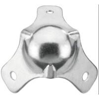 Monacor LS- Metallecke kugelform, 3 schenklig,