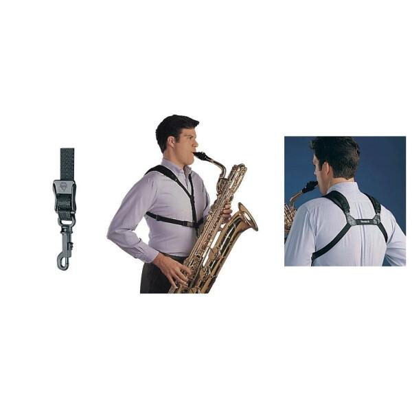 Neotech Saxophongurt Soft Harness Schwarz Länge 21 - 31,2 cm Junior
