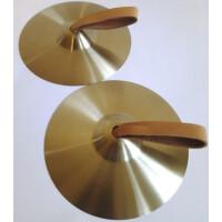 Rubner Cymbeln 10 cm, Silberbronze