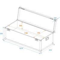 Roadinger Universal-Transport-Case 120x40cm