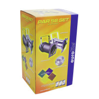 Eurolite PAR-56 Spot Long Set sil