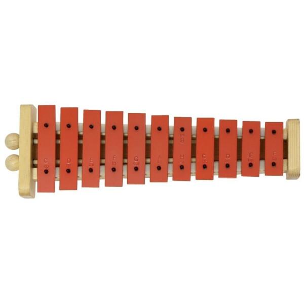 Gewa Glockenspiel G11R rote Klangplatten