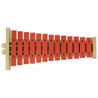 Gewa Glockenspiel G13R rote Klangplatten